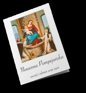 ulotka z Nowenną Pompejańską