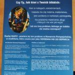 plakat z Nowenną Pompejańską