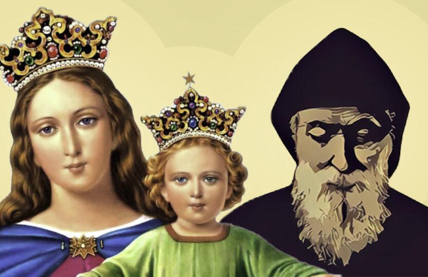 Maryja, Jezus, św. Charbel