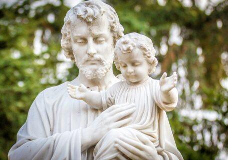 Figura św. Józefa z Jezusem